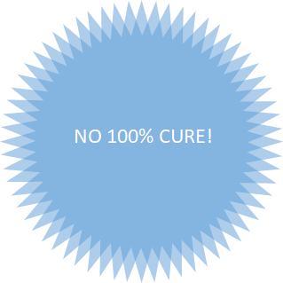 no 100% cure for varicocele
